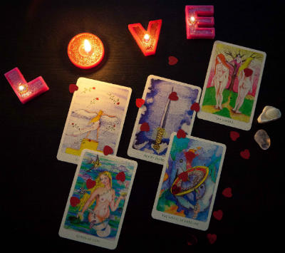 Love Tarot Spread