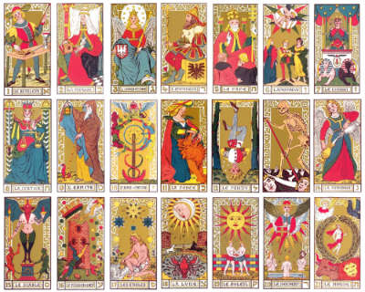 marseille tarot card