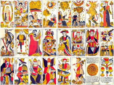 tarot of marseilles cards